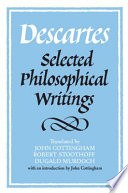 Descartes  Selected Philosophical Writings