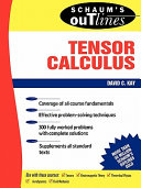 Schaum s Outline of Tensor Calculus