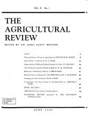 The Agricultural Review