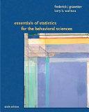 Essentials Of Statistics For The Behavioral Science
