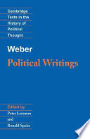 Weber Political Writings