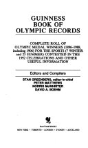Guinness book of Olympic records