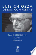 Obras Completas De Luis Chiozza Tomo Xx