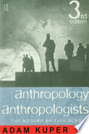 Anthropology and Anthropologists
