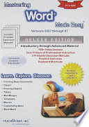 Mastering Word Made Easy