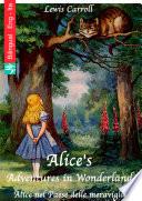 Alice s Adventures in Wonderland  English Italian edition illustrated
