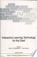 Interactive Learning Technology For The Deaf book