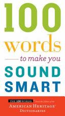 100 Words to Make You Sound Smart Book PDF