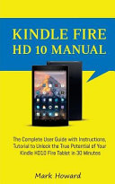Kindle Fire Hd 10 Manual