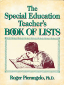 The Special Educator S Book Of Lists