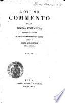 L  ottimo commento della Divina commedia testo inedito d un contemporaneo di Dante citato dagli Accademici della Crusca tomo 1    3