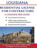 Louisiana Residential License for Contractors