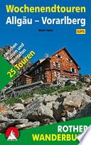Wochenendtouren Allg  u Vorarlberg