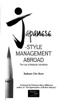 Japanese style management abroad