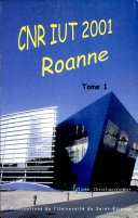 CNR IUT 2001 Roanne 2 volumes