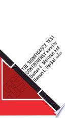 download ebook the significance test controversy pdf epub