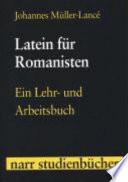 Latein für Romanisten
