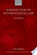 Jurisdiction in International Law