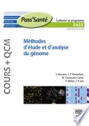 illustration du livre Méthodes d'étude et d'analyse du génome (Cours + QCM)