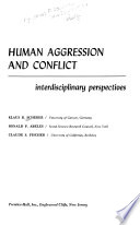 Human aggression and conflict