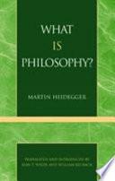 Was Ist Das--die Philosophie?