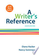 A Writer s Reference with 2016 MLA Update