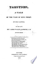 Yamoyden  a Tale of the Wars of King Philip