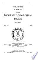 Bulletin of the Brooklyn Entomological Society