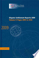 Dispute Settlement Reports 2009  Volume 5  Pages 2095 2532