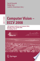 Computer Vision   ECCV 2008
