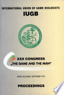 Proceedings of the Congress of the International Union of Game Biologists, XXII Congress