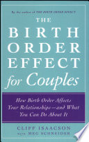The Birth Order Effect for Couples