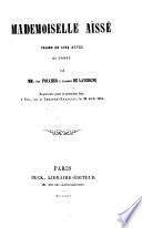 Mademoiselle Aïssé, drame en cinq actes, en prose, etc