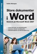 Store dokumenter i Word