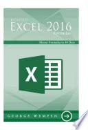Microsoft Excel 2016 Formula