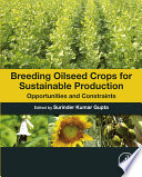 Breeding Oilseed Crops For Sustainable Production book