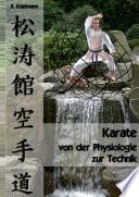 Karate - von der Physiologie zur Technik