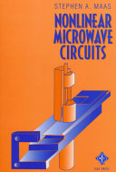 Nonlinear Microwave Circuits