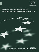 Values and Principles in European Union Foreign Policy