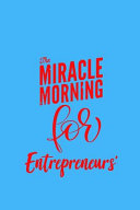 Book The Miracle Morning for Entrepreneurs