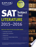 Kaplan SAT Subject Test Literature 2015 2016