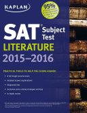 Kaplan SAT Subject Test Literature 2015-2016