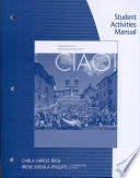 Student Activity Manual