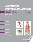 Anatomie de l'Appareil Locomoteur - Tome 3. Tronc