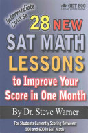 28 New SAT Math Lessons to Improve Your Score in One Month   Intermediate Course