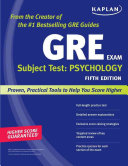 Kaplan GRE Subject Test  Psychology