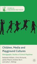 download ebook children, media and playground cultures pdf epub