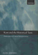 Kant and the Historical Turn