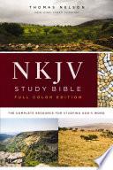 Nkjv Study Bible Full Color Ebook