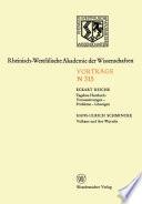 Tagebau Hambach: Voraussetzungen — Probleme — Lösungen. Vulkane und ihre Wurzeln